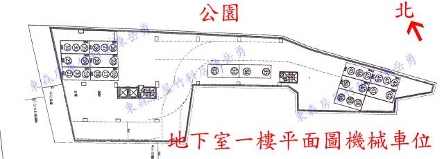 地 下一樓車位圖有電話