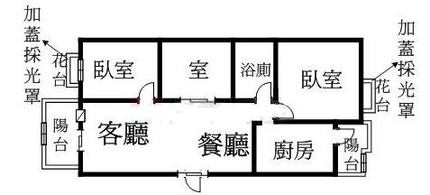 文化大鎮8樓格局圖