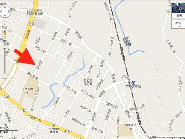 東方文華位置圖